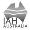 IAH logo bw